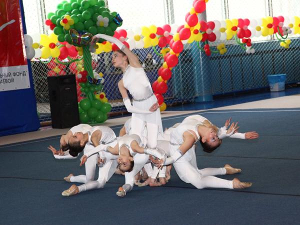 Фестивале художественной гимнастики