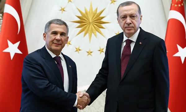 Минниханов встретится сЭрдоганом