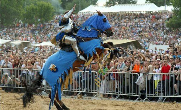 ВТатарстане закончился фестиваль средневекового боя «Великий Болгар»